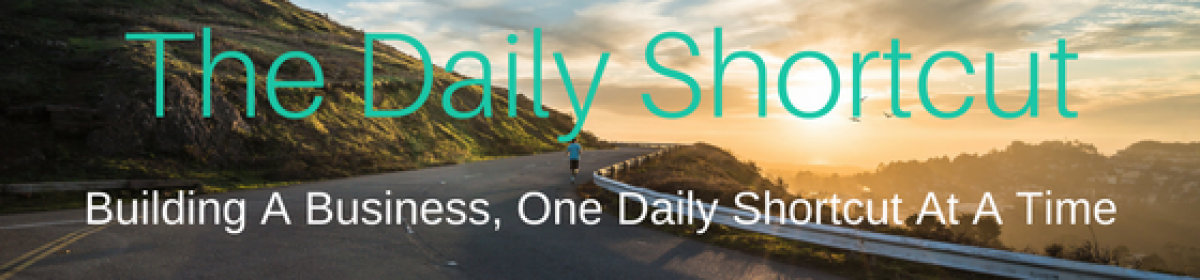 The Daily Shortcut